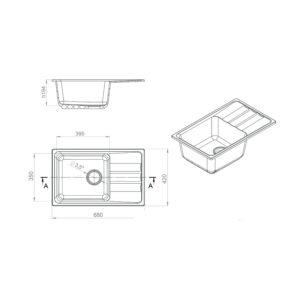 LEX Lumera 680 Space Gray