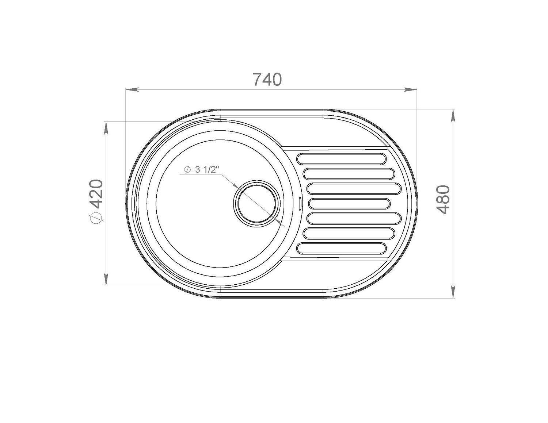 LEX Como 740 Space Gray