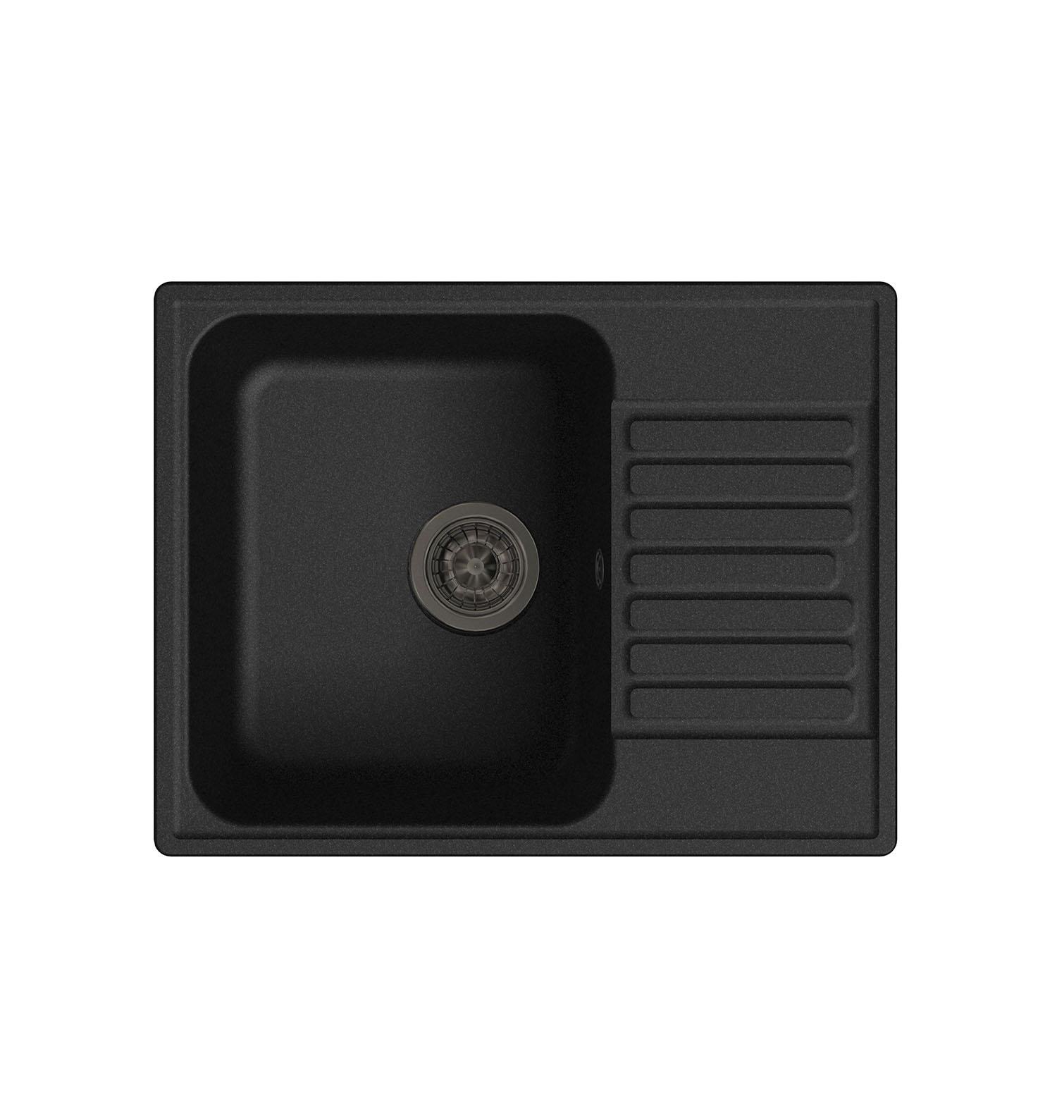 LEX Garda 620 Black кухонная мойка lex garda 620 black черный