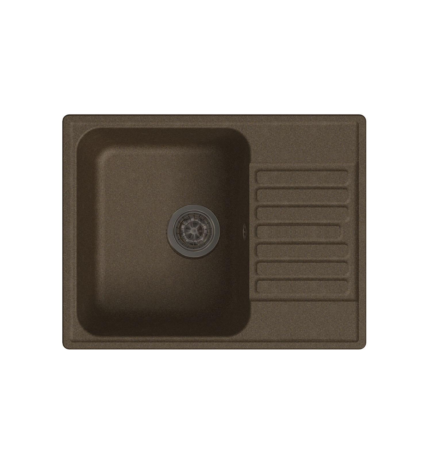 LEX Garda 620 Chocolate кухонная мойка lex garda 620 black черный