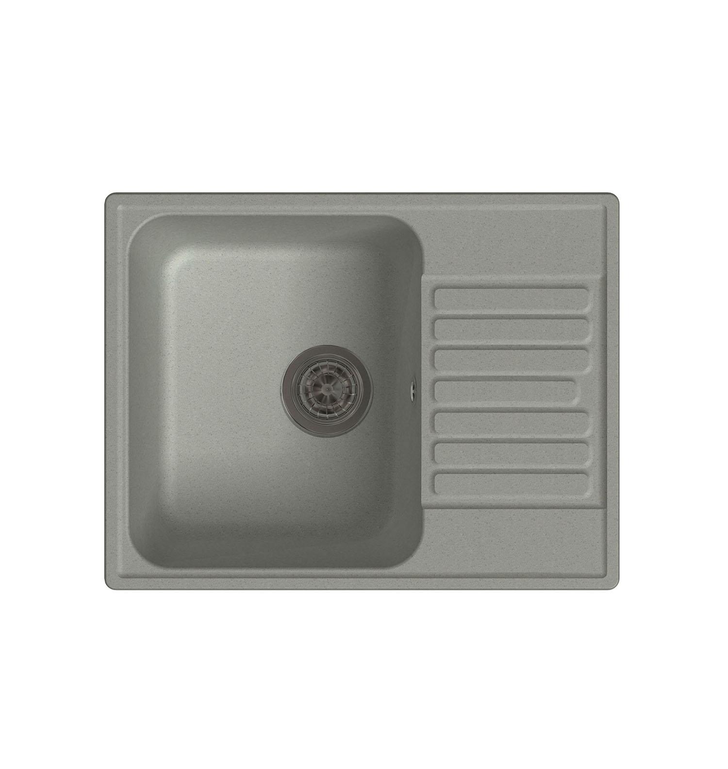LEX Garda 620 Space Gray кухонная мойка lex garda 620 black черный