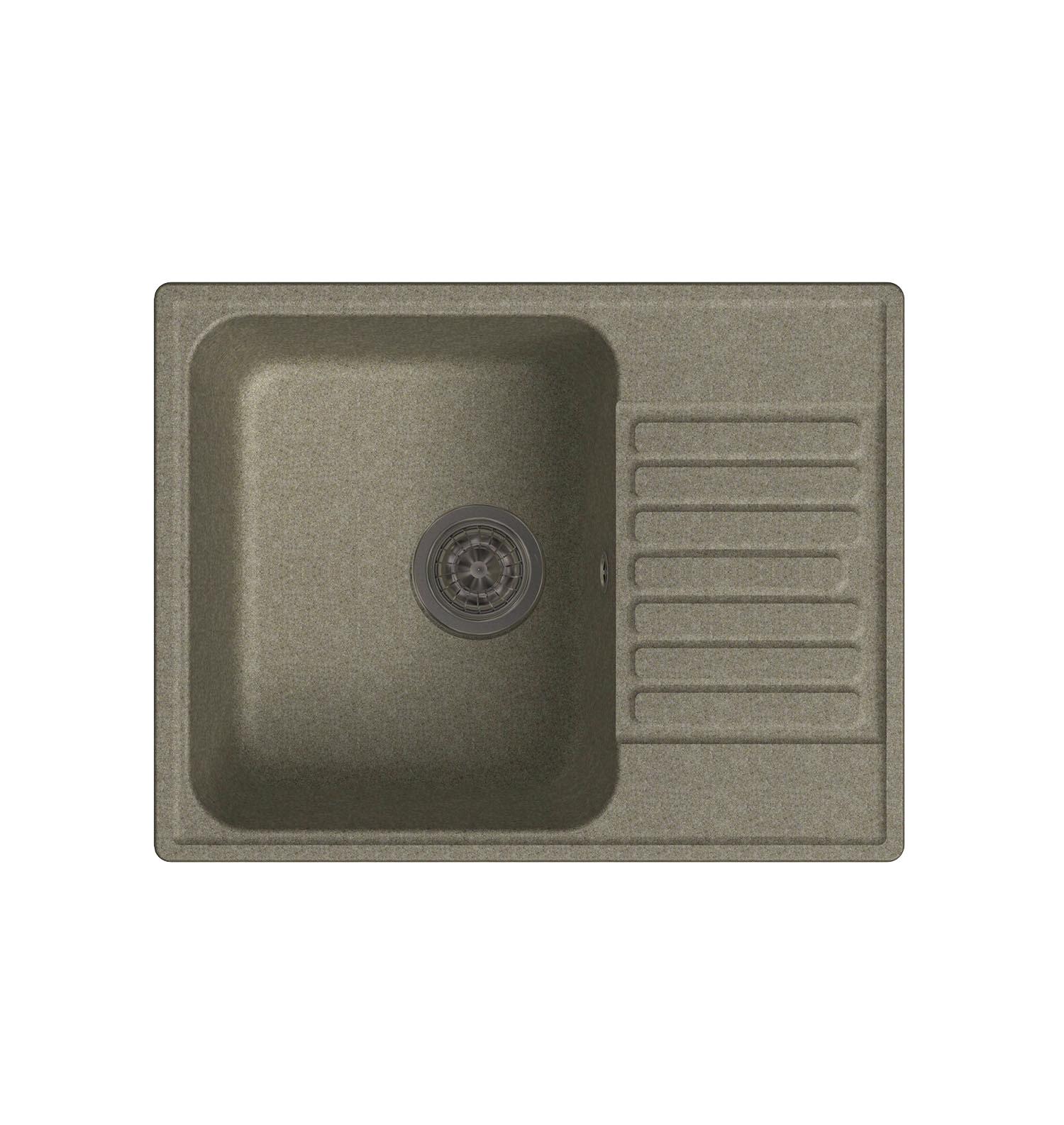 LEX Garda 620 Sand кухонная мойка lex garda 620 black черный