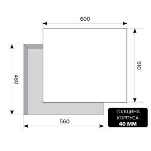 LEX GVE 6044-1 C IV Light Белый антик