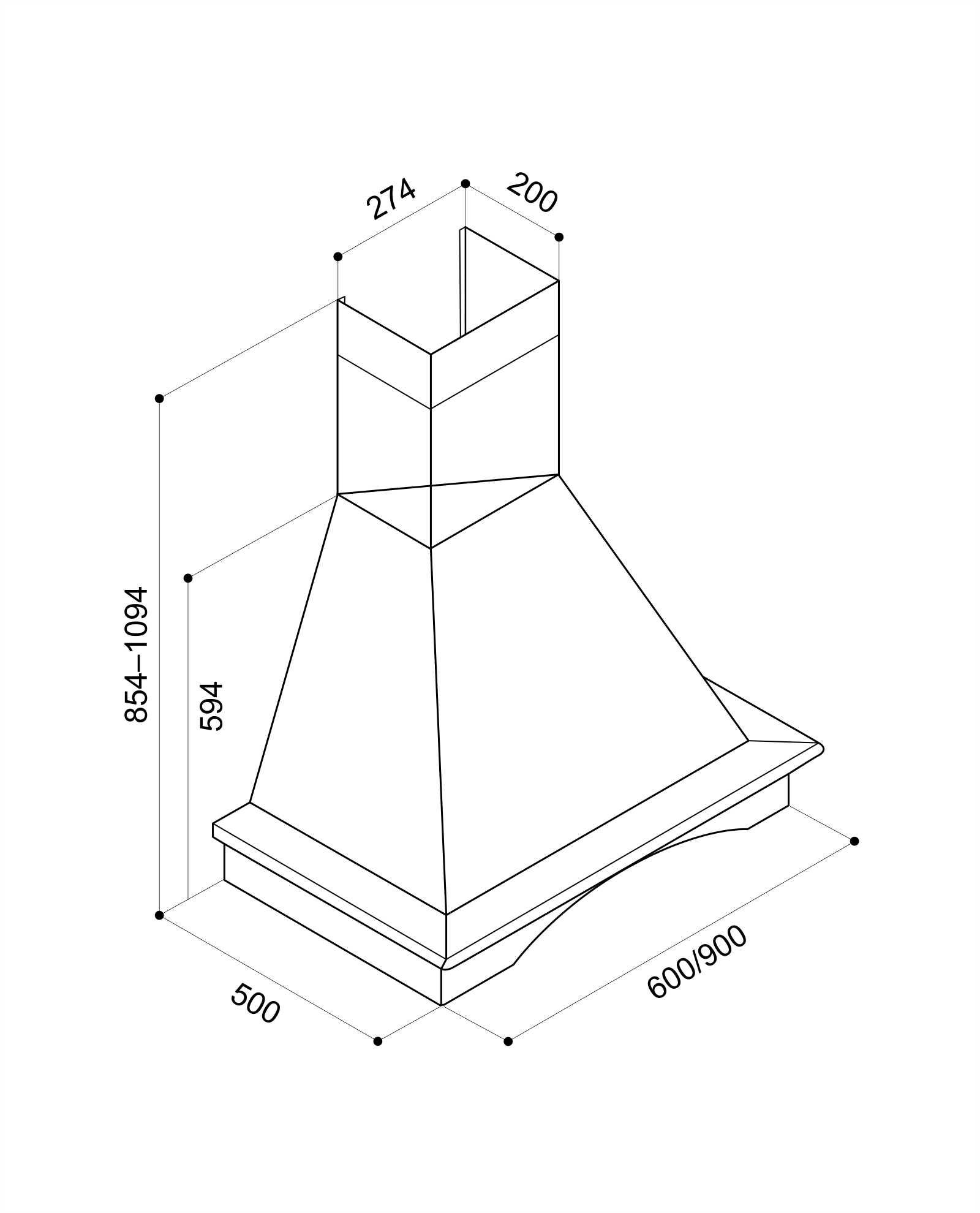 Схема для вытяжки Chr 115